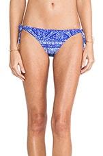 Carioca Long Tie Bottom in Blue