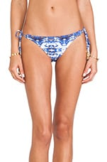 Long Tie Bikini Bottom in Pyramid