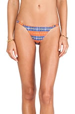 New String Bikini Bottom in Jaspe