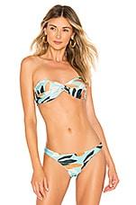 Vix Swimwear Match Bandeau Top in Matisse