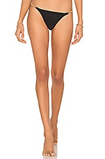 Vix Swimwear Rope Knot Cheeky Bottom in Black