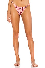 Vix Swimwear Rope Brazilian Bottom in Hermosa