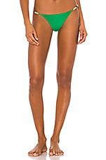 Vix Swimwear Sprite Bondi Cheeky Bikini Bottom in Kelly Green