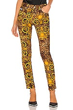 Versace Jeans Couture Lady Trouser in Gold