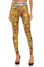 Versace Jeans Couture Lady Legging in Gold