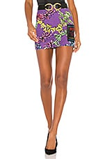 Versace Jeans Couture Mini Skirt in Viola