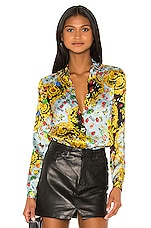Versace Jeans Couture Button Up Lady Shirt in Menta