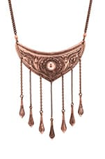 Luminous Necklace in Copper