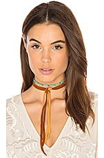 Dallas Choker in Turquoise