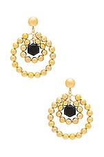 Vanessa Mooney Elsa Earrings in Gold
