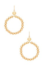 Vanessa Mooney The Crawford Earrings in Gold