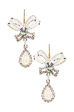 Vanessa Mooney The Bow Tie Earrings in Pearl