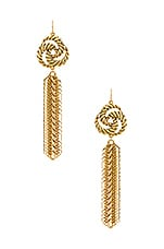 Vanessa Mooney The Catalina Earrings in Gold