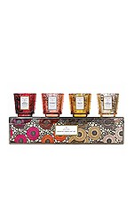 Voluspa Pedestal Warm Tones Gift Set in Warm Tones