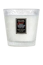 Voluspa Boxed 2 Wick Glass Candle in Spiced Goji Tarocco Orange