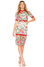 VONE Mira Dress in Floral Embroidery