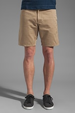 Craftsman Selvedge Chino Short in Khaki