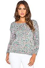 The Allflower CreativeConfetti Sweater in Lilac & White