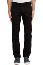 Westpoint Twill Chino in Black