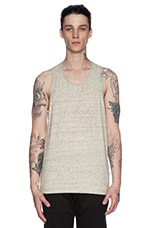 Heather Jersey Tank in Sage Melange