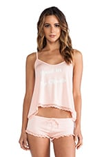 Wildfox Couture Head in The Clouds Cami Pj Set in Peach Peony
