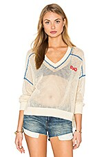 Rad Embroidery Top en Natural Ground