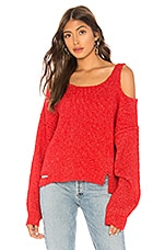 Wildfox Couture Buffy Sweater in Scarlet