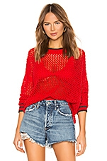 Wildfox Couture Mila Sweater in Poppy Red