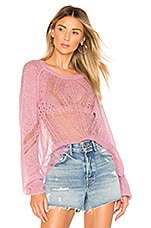 Wildfox Couture Jackie Sweater in Orchid