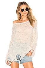 Wildfox Couture Lennon Confetti Sweater in Confetti