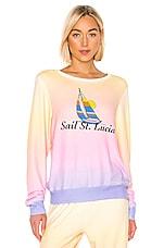 Wildfox Couture Sail St. Lucia Baggy Beach Jumper in Multi