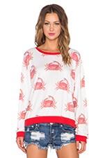 Crabby Sweatshirt in Multi
