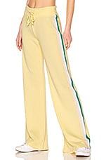 Wildfox Couture Tri Stripe Sweatpant in Mellow