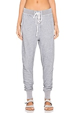 Wildfox Couture Solid Sweatpant in Heather Grey
