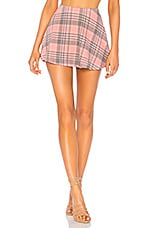Wildfox Couture Sweetheart Plaid Villa Skirt in Multi