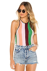 Wildfox Couture Sherbet Stripes Royce Tank in Multi