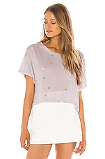 Wildfox Couture Multi Starlet Valley Tee in Iris