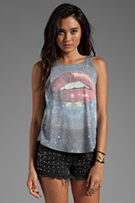 Wildfox Couture Kissing Under the Stars Cassidy Tank in Multi