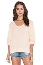 Essential Baggy Beach V Neck Tee in Lox