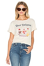 Diet Dropout Top en Vanilla Latte