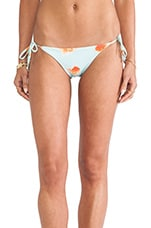 Classic String Bottom in Goldfish Print
