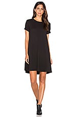 Trapeze Tee Dress en Noir