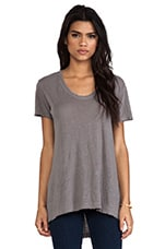 T-SHIRT BASIQUE RAS DE COU EASY RAW