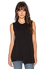 Shifted Trapeze Tank in Black