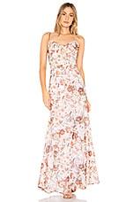 Winona Australia Tigerlily Cowl Maxi Dress in Floral