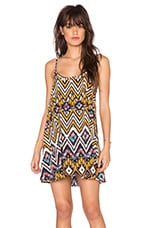 Crossroads Swing Dress in Tribal Print
