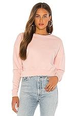 Wilson Gabrielle The Brooke Sweatshirt in Blush