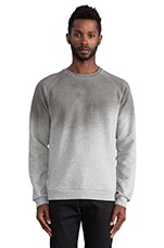 Time Dip Dye Pullover in High Rise