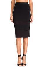 I Like It Sheer Skirt in Black