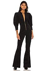 WeWoreWhat 70s Jumpsuit in Black